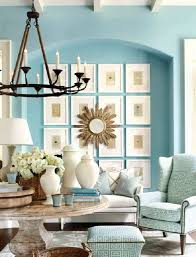 marvellous orange and blue living room