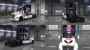 U.S.A. Eagle Truck For Kenworth T680 For ATS - ATS Mod / American ... 2014 Used Intertional Prostar Eagle At Premier Truck Group Serving Heavy Equipment Moving Bakersfield Crane Rental 13 Adventurer Lp Eagle Cap 1200 Campers For Sale Home Transport Services Inc Delivery And Trucking Calgary Alberta Get Quotes For My 2006 9200i Silage Truck Item Dx9084 American Flag Wrap Visual Horizons Custom Signs Snacks 2 Archway Anheuser Busch Logo Sams Man Cave 2013 9900i Sale In Wheeling Wv By Dealer Ruthmann T 108 A Truckmounted Aerial Platform Youtube