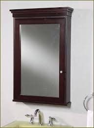 Brushed Nickel Medicine Cabinet With Mirror by Brushed Nickel Medicine Cabinet Surface Mount Home Design Ideas