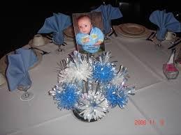 Baptism Decoration Ideas For Twins by Boy Baptism Centerpiece Party Planning Pinterest Boy Baptism
