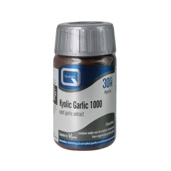 Quest Kyolic Garlic Extract - 30 Tablets