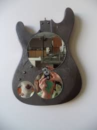 Broken Guitar Wall Art