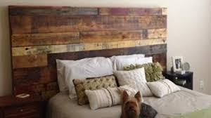 Fabulous Rustic Headboard Made Out Of Pallets Its So Unique Easy To Make