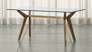 Crate And Barrel Dining Room Chairs by Strut Teak Table Crate And Barrel