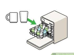 Unload Dishwasher Clipart