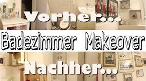 badezimmer makeover aus alt mach neu diy