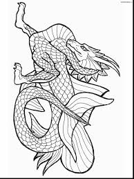 Good Dragon Coloring Pages With Chinese And Faces