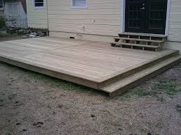 Small Wood Pallet Deck