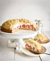 maulwurfkuchen mit erdbeeren sommerlich lecker mix dich
