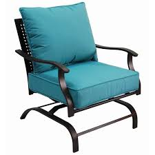 Lowes Canada Patio Furniture by Garden Treasures Galway Bay Steel Cushioned Patio Spring Motion