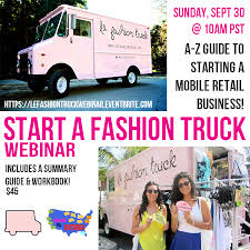 100 Fashion Truck Business Plan American Mobile Retail Association 2018