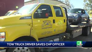 100 Tow Truck Driver Requirements Truck Driver Called Hero For Helping CHP Officer