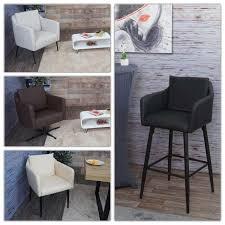 lounge sessel hwc h93b sessel cocktailsessel relaxsessel mit fußkreuz drehbar kunstleder schwarz