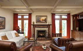 Earth Tones Living Room Design Ideas by Living Room 01 3a9a0742 Jpg Craftsman Living Room With Rich Warm