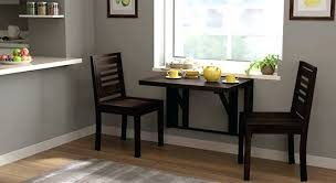 2 Seater Table Wall Mounted Dining Set Dimensions