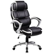 Luxury Designer Computer Office Chair - Black With White Accents Replica Charles Ray Eames Pu Leather High Back Executive Office Chair Black Stanton Mulfunction By Bush Business Fniture Merax Ergonomic Gaming Adjustable Swivel Grey Sally Chairs Guide How To Buy A Desk Top 10 Soft Pad Annaghmore Fduk Best Price Guarantee We Will Beat Our Competitors Give Our Sales Team A Call On 0116 235 77 86 And We Wake Forest Enthusiast Songmics With Durable Stable Height Obg22buk Rockford Style Premium Brushed Alinium Frame