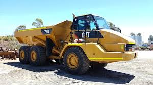100 Truck For Hire Caterpillar 730 Articulated Dump RediPlant