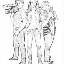 Printable Icarly Coloring Pages AZ