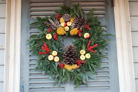 Colonial Christmas Decorating Ideas Door Decorations In Williamsburg Life And Real Estate On Decoration