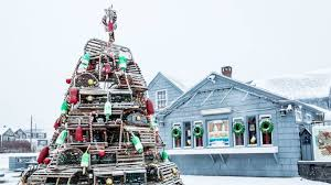 New Englands Crazy Christmas Tree Tradition