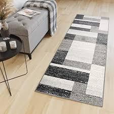 tapiso sari teppich läufer meterware wohnzimmer schlafzimmer küche flur brücke nach maß viereck figuren braun beige meliert ökotex 120 x 100 cm