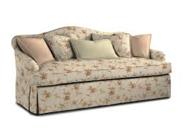 Kenton Fabric Sofa Parchment by One Cushion Sofas And One Cushion Sofa With Nail Trim At Sherrill