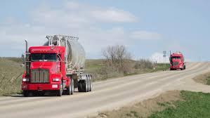 100 Halliburton Trucks Legislators OK Funding For Oil Patch Jamestown Sun