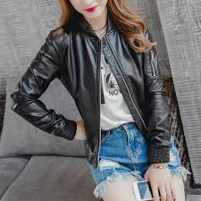 compare prices on leather jacket womens online shopping buy low