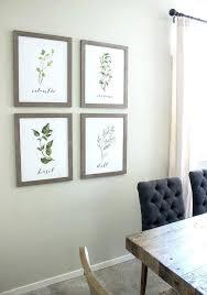 Dining Room Wall Art Decor Farmhouse Lovable With