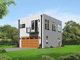 100 Cube House Design Plan 68472VR Modern Shaped Plan