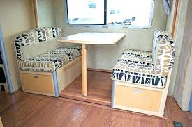 Rv Dining Chairs Table New Chair Wall To Dinette For Travel Trailer Used Furniture