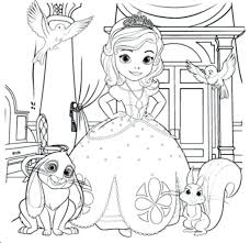 Sofia Coloring Pages Free Princess Games Mermaid Pics Regard Aspiration Full Size