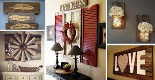 Fancy Ideas Rustic Wall Decor 27 Best And Designs For 2017
