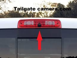 3rd Brake Light Backup Camera For 2013-2018 Dodge Ram Trucks With ...
