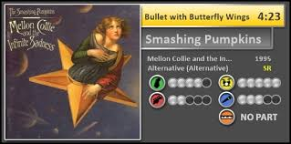 Smashing Pumpkins Bullet With Butterfly Wings Album by Smashing Pumpkins Discography Wip Page 18 Custom Chart Wips