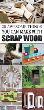 20 Awesome Things You Can Make With Scrap Wood
