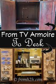 Best 25+ Tv Armoire Ideas On Pinterest | Armoire Redo, Armoires ... Armoire Wardrobe Storage Cabinet Over The Door Jewelry With Mirror Tv Turned Into A Sewing Cabinet With Fold Up Table Eertainment Armoire Pocket Doors Ertainment Tv Abolishrmcom Baby Room Mirrored Cheval Shaker Television Pocket Doors Modern Beautiful Tv Design Photos Transfmatorious Antique White Computer Desk Decorative Decoration Small Media Consoles Centers Arhaus Small Bespoke Cabinets