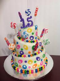 Stylish Design 15 Birthday Cake Winsome Ideas Best 25 15th Cakes