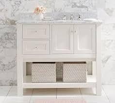 46 Inch Wide Bathroom Vanity by Bathroom Vanities U0026 Sink Consoles Pottery Barn