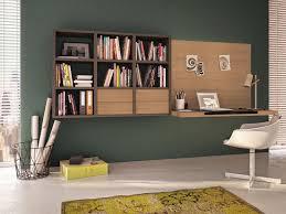 solution bureau solution rangement chambre lit bois decoration chambre adulte