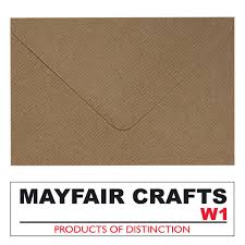 Mayfair Crafts Buste Da Lettere A Coste Formato C5 100
