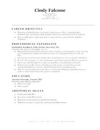 Medical Office Assistant Resume Sample Administrative Assista Objective Examples Example Of