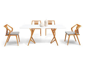 chaises de salle à manger design tables de salle manger en bois trendy mod le d coration table