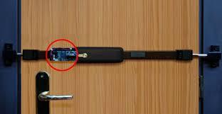 barre securite porte entree la nouvelle barre de sûreté électronique viro protection