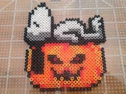 Halloween Perler Bead Templates by 43 Best Halloween Melt Beads Images On Pinterest Beads