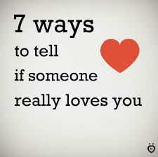 Relationship Rules Ways To Tell If Someone Really Loves You Facebook