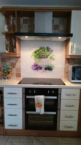 Herb Bowl Printed Glass Splashback By DIY Splashbacks Can Be Integrated Easily In To