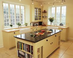 simple small country style kitchen decoration ideas with white