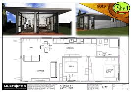 100 Homes From Shipping Containers Floor Plans Earthcube Plan Gallery Container Cabins Container