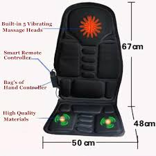 Back Massage Pads For Chairs by Portable Car Massage Seat Pad Heated Full Back Massage Cushion For